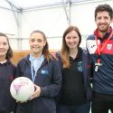 Katy Scores with Walking Netball