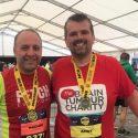 Andy overcomes brain tumour to smash Half Marathon