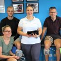 Physios Train with High-Tech Equipment